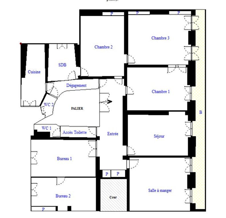 plan appartement 7 pieces
